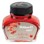 Inchiostro stilografico 4001 - rosso - lunghezza 39mm - 30ml - Pelikan
