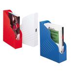 Portariviste Magazine Rack - 25x32 cm - dorso 8 cm - rosso - Rexel
