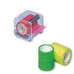 Nastro adesivo Memograph con dispenser - 50 mm x 10 m - giallo - Eurocel