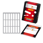 Etichetta adesiva - permanente - rettangolare - 46x14 mm - 21 etichette per foglio - 10 fogli per busta - bianco - Markin