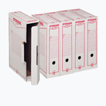 Scatola archivio Storage - formato legale - 90x370x260 mm - King Mec