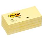 Blocco 100fg post-it®giallo canary 38x51mm 653
