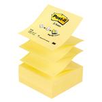 Blocco Post It Z Notes - giallo Canary - 76 x 76mm - 100 fogli - Post It