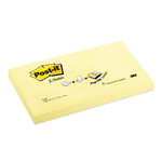 Blocco Post it® Super Sticky Z Notes - giallo Canary