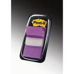 Segnapagina Post-it® Index Medium - 25.4x43.2 mm - porpora - dispenser da 50 segnapagina
