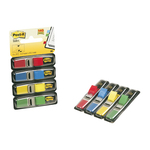Segnapagina Post it® Index Mini - 12x43,2 mm - 4 colori classici - Post it® - conf. 140 pezzi