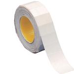 Etichette removibili per Towa GS/GM e Motex 5500 - 21x12 mm - bianco - rotolo da 1000 etichette