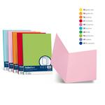 Cartelline semplici Luce - cartoncino 200 g - 25x34 cm - blu prussia - Favini - conf. 50 pezzi
