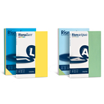 Carta Rismaluce - A4 - 200 gr - mix 8 colori - Favini - conf. 125 fogli