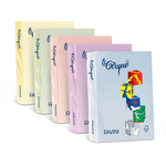 Carta Le Cirque - A4 - 80 gr - giallo pastello 100 - Favini - conf. 500 fogli