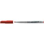 Pennarello Whiteboard Marker Velleda 1741 - punta tonda 1,4mm - rosso - Bic - conf. 12 pezzi