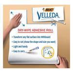 Lavagna bianca Velleda Roll - foglio adesivo cancellabile - 67,5x100 cm - Bic®