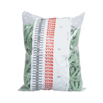 Elastici fettuccia - verde - ø 100 mm - Viva - sacco da 1 kg