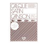 Carta lucida satinata per disegno manuale - A3 - 250 fogli - 90/95gr - per fotocopie/stampe laser - Canson