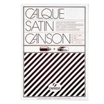 Blocco carta lucida satinata per disegno manuale - A4 - 50 fogli - 90gr - Canson