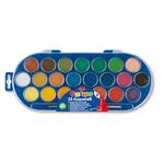 Acquerelli - ø 30mm - colori assortiti - Primo - Astuccio da 22 pastiglie