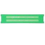 Normografo lettere e cifre Uni - 3,5mm - verde - Arda