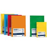 Separatori Dividerello - cartoncino colorato 220 gr - 15x21 cm - mix 5 colori - Favini - conf. 10 pezzi