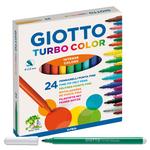 Astuccio 24 pennarelli Turbocolor - Giotto
