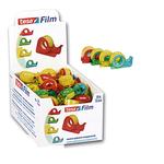 Nastro adesivo Tesa® Film con chiocciola - 10 mt x 15 mm - trasparente - Tesa®