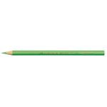 Supermina pastelli colorati - esagonali Ø 7,6mm lunghezza 18cm e mina Ø 3,8mm - verde - Giotto