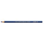 Supermina pastelli colorati - esagonali Ø 7,6mm lunghezza 18cm e mina Ø 3,8mm - blu oltremare - Giotto