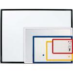 Lavagna magnetica Lmv - bianca - 26x36 cm - cornice in colori assortiti - Arda