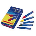 Pastello industriale 762 - giallo - Pelikan - conf. 12 pezzi