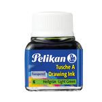 Inchiostro di china 523 - 10ml  - verde chiaro - Pelikan