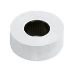 Rotolo 1000 etichette art.165 - 22x12 mm - permanente - bianco - Lebez - conf. 10 rotoli