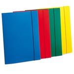 Cartellina con elastico - PPL - 3 lembi - 23,5x34,5 cm - rosso - Fellowes