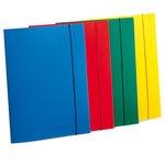 Cartellina con elastico - PP - 3 lembi - azzurro - Fellowes