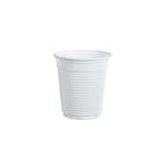 100 bicchieri 80cc bianco monouso da caffe\ dopla