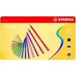 Stabilo Original 8778 - tratto 2,80mm - colori assortiti - Stabilo - astuccio 38 pastelli colorati