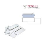 Busta bianca senza finestra - serie Edera Strip - 110x230 mm - 90 gr - Pigna - conf. 500 pezzi
