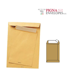 Busta a sacco avana - serie Multimail - strip adesivo - 230x330 mm - 100 gr - Pigna - conf. 500 pezzi