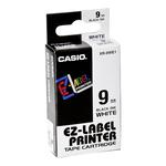 Nastro - 9 mm x 8 mt - nero/ bianco - Casio
