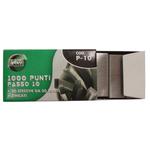 Punti zincati P10 - passo 10 - 9/4 - metallo - Lebez - 20 conf. 1000 pezzi