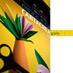 Cartoncino CartaCrea - 35x50cm - 220gr - giallo 107 - Fabriano - Conf.10 fogli