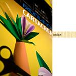 Cartoncino CartaCrea - 35x50cm - 220gr - onice 117 - Fabriano - Conf.10 fogli