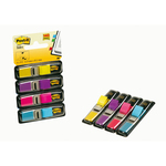 Segnapagina Post it® Index Mini - 12x43,1 mm - 4 colori vivaci - Post it® - conf. 140 pezzi