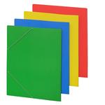 Cartellina con elastico - cartone plastificato - 50x70 cm - azzurro - Cartotecnica del Garda