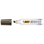 Pennarello Whiteboard Marker Velleda 1781 - punta a scalpello da 3,2 a 5,5mm - nero  - Bic - conf. 12 pezzi