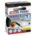 Nastro adesivo telato XP Perfect - 19 mm x 2,7 m - nero - Tesa®