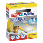 Nastro adesivo telato XP Perfect - 19 mm x 2,7 m - giallo - Tesa®