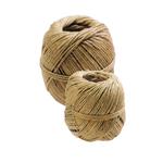 Rotolo di spago - canapa naturale titolo 2 3/4 - 100 grammi - diametro 3.5 mm - lunghezza 16 m - Viva - conf. 10 pezzi