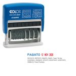 Timbro Mini Info Dater S120/WD Datario + Polinomio - 12 diciture 4 mm - autoinchiostrante - Colop®