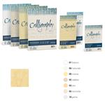 Carta Calligraphy Pergamena - A4 - 90 gr - A4 - sabbia 02 - Favini - conf. 50 fogli