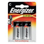 Energizer Alkaline Max C x 2