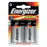 Energizer Alkaline Max D x 2